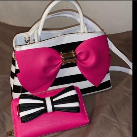 Betsey Johnson Handbags - Betsey Johnson handbag and wallet set